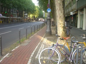 Another Brick Bike Lane in Koln